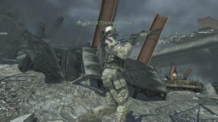 TheAngryFatGuy playing Call of Duty: Modern Warfare 3